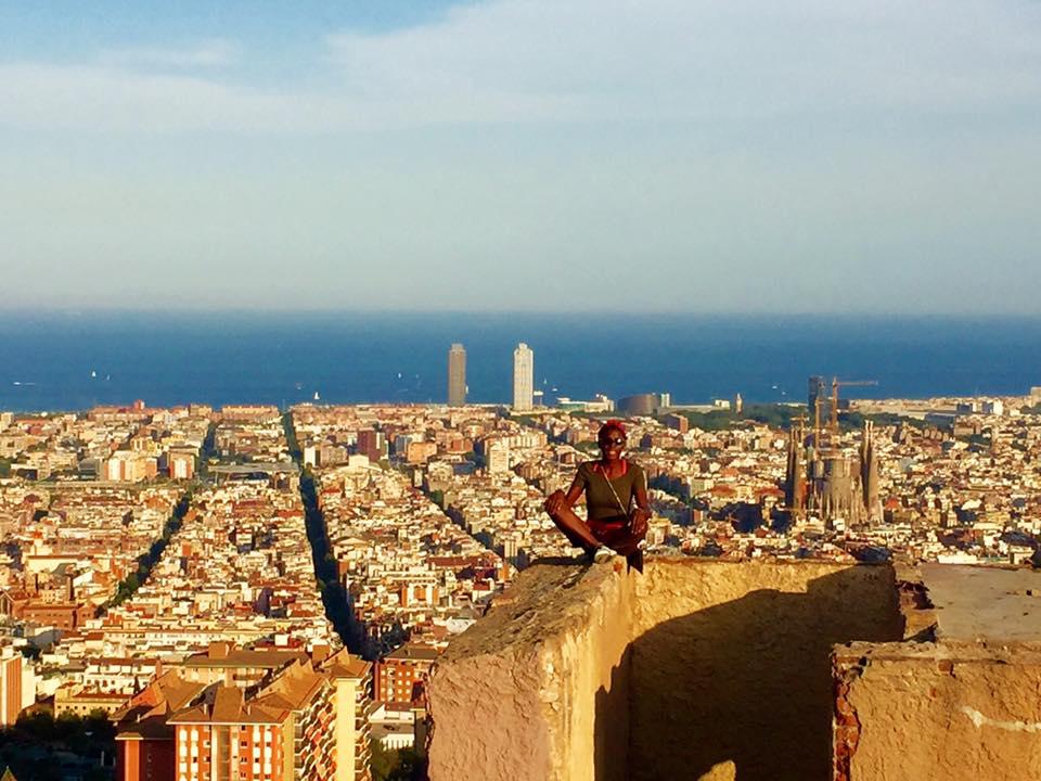 View from Bunkers del Carmel, Barcelona. June 2016