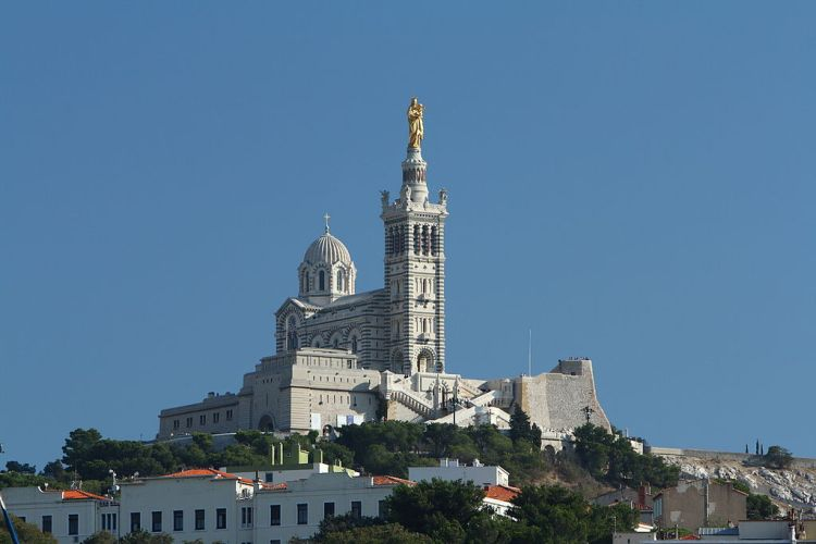 What do to in Marseille - Notre Dame de la Garde, Marseille | ©Benh LIEU SONG / Wikimedia Commons