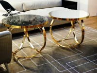 Popular Modern Side Tables for Luxury Living Rooms