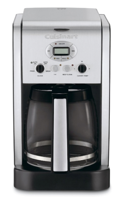 Cuisinart programmable coffee makers a comparison between for Cuisinart dcc 1200
