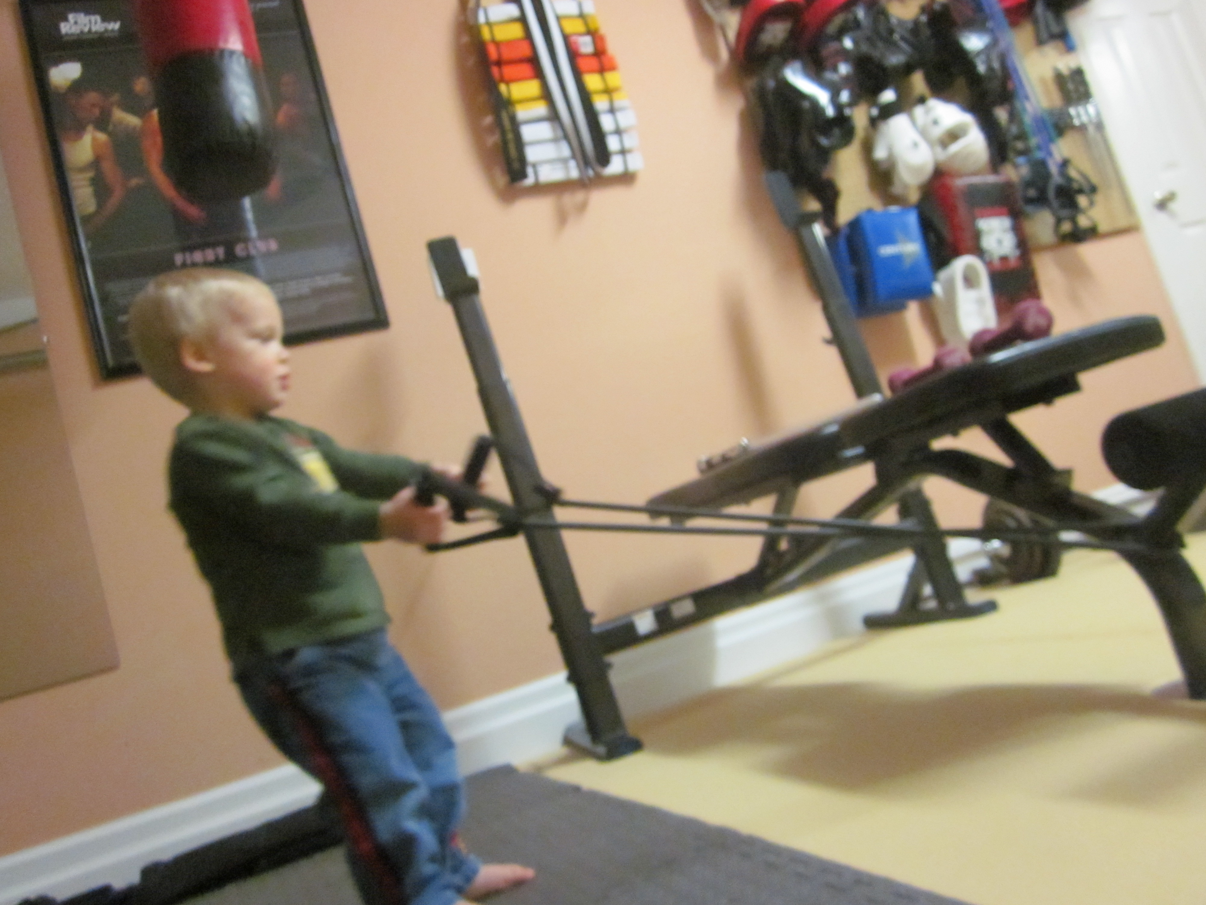 Garage Gym Warrior My Garage Gym Thanks To The Art Of Manliness Mastering The Art