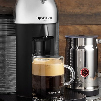 Nespresso VertuoLine + Aeroccino milk frother only $169 (down from $249)