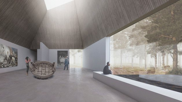 Coffey Architects_Museum of Forest Finn Culture (10)