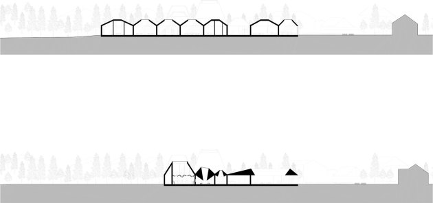 Coffey Architects_Museum of Forest Finn Culture_Long-Sections