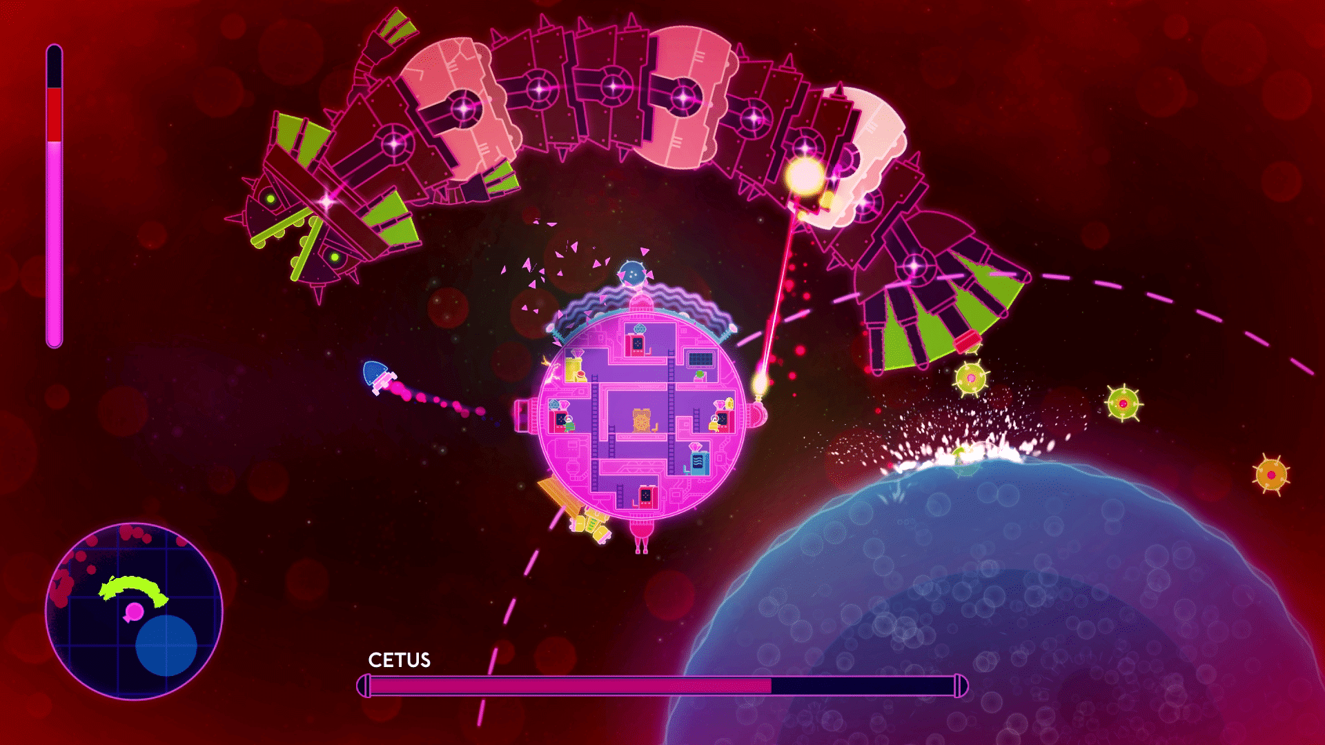 Alien Wallpaper Cute Lovers In A Dangerous Spacetime Arrives On The Playstation
