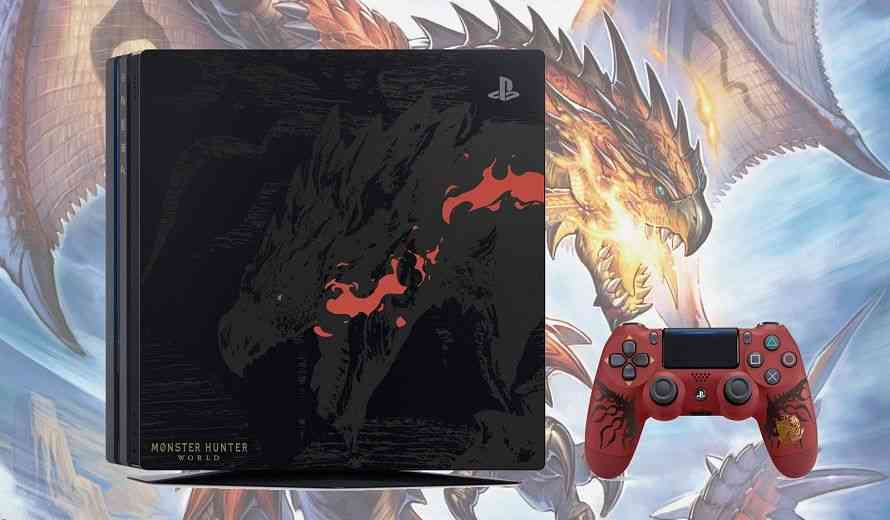 Japanese Art Wallpaper Hd Monster Hunter World Ps4 Pro Rathalos Edition Is Awesome