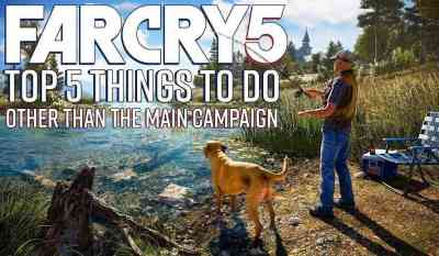 Need a Break from Saving Hope County? Here are 5 Things to Do in Far Cry 5