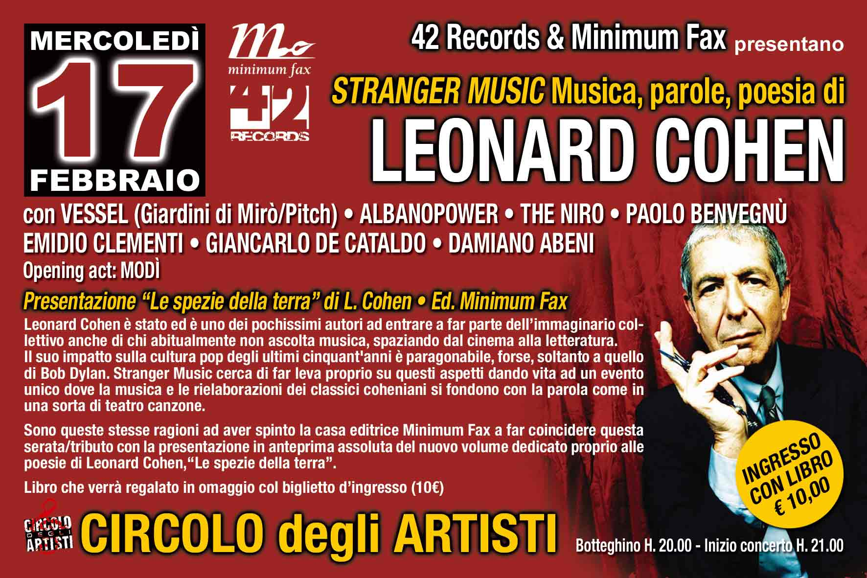 Leonard Cohen Libros Stranger Music An Open Source Tribute To The Music And