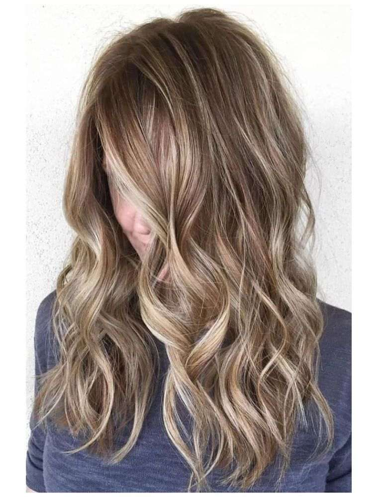 Couleur Balayage Tendance 2018 Balayage Blond Coiffure Simple Et Facile