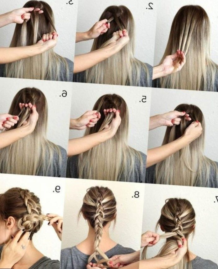 Coiffure Cheveux Long Facile A Faire Soi Meme Coiffure Simple Cheveux Mi Long Attaché Coiffure Simple