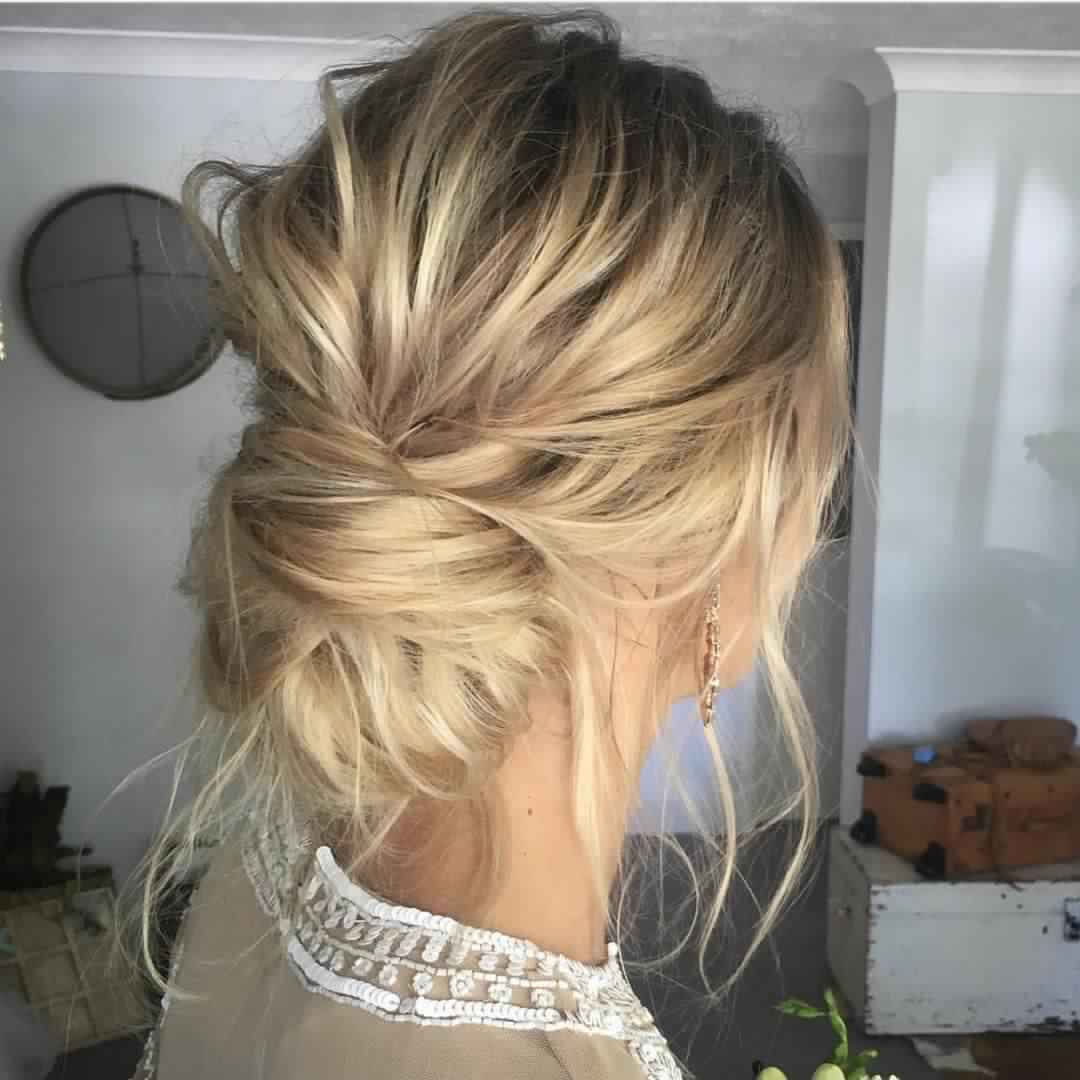 Coiffure Mariage Simple Cheveux Courts Belle Coiffure Mariée 2018 2019 Coiffure Simple Et Facile
