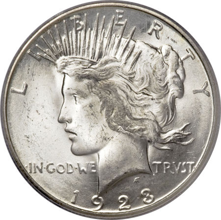 1923-S Peace Silver Dollar Coin Value, Facts