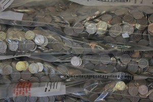 copper nickels in bags
