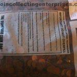 34 pounds copper pennies