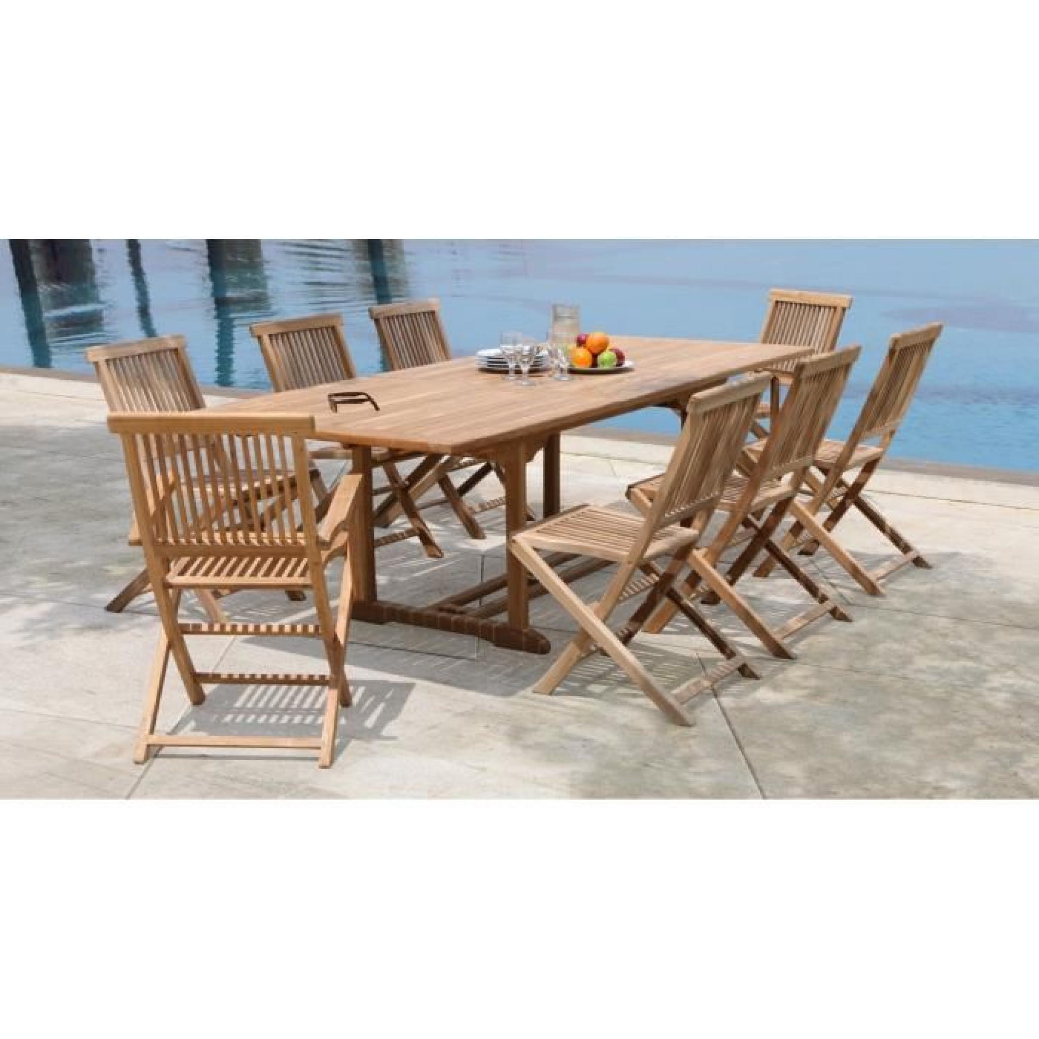 Table Extensible Exterieur Pas Cher   Salon De Jardin Pas Cher