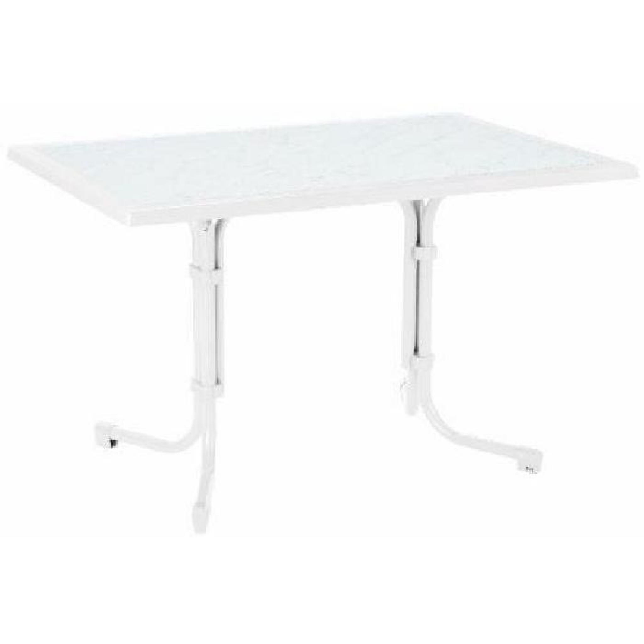 Pied Table Pliant Best 26531200 Primo Table Pliante Carrée à Pied