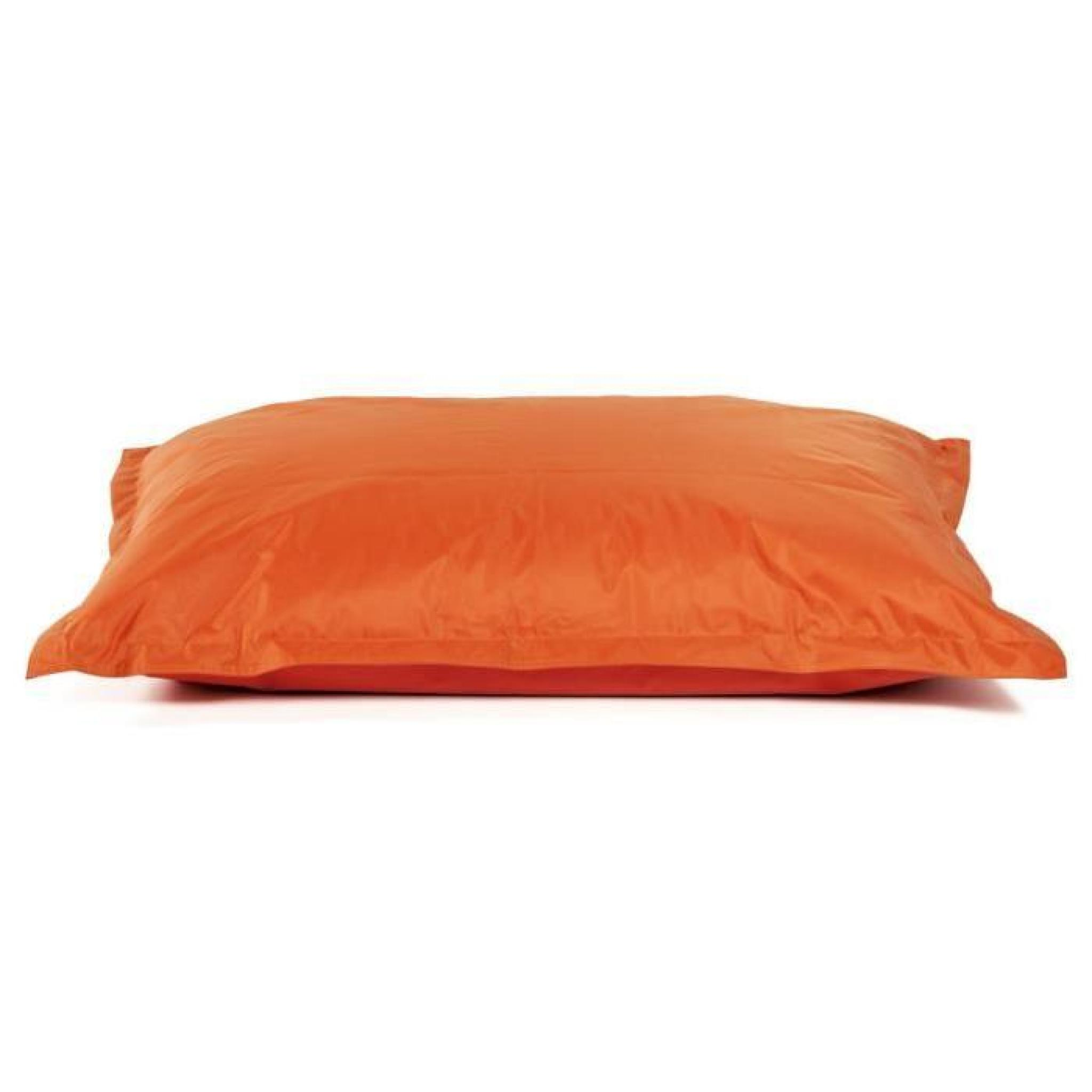 Pouf Exterieur Fuschia Pouf Design En Textile De Couleur Orange Ls00530or