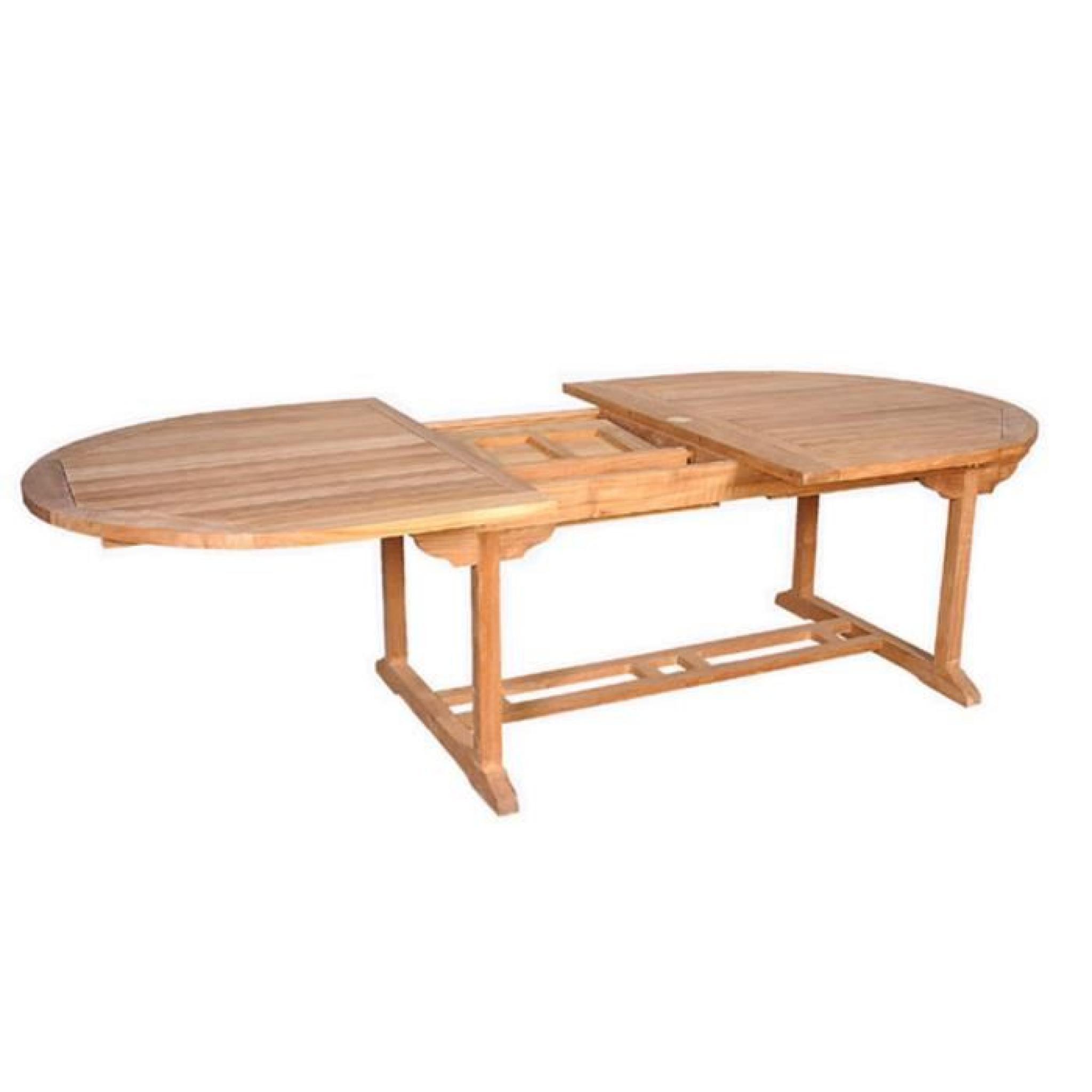 Salon Jardin Teck Brut | Table Teck Exterieur Beautiful Table Teck ...