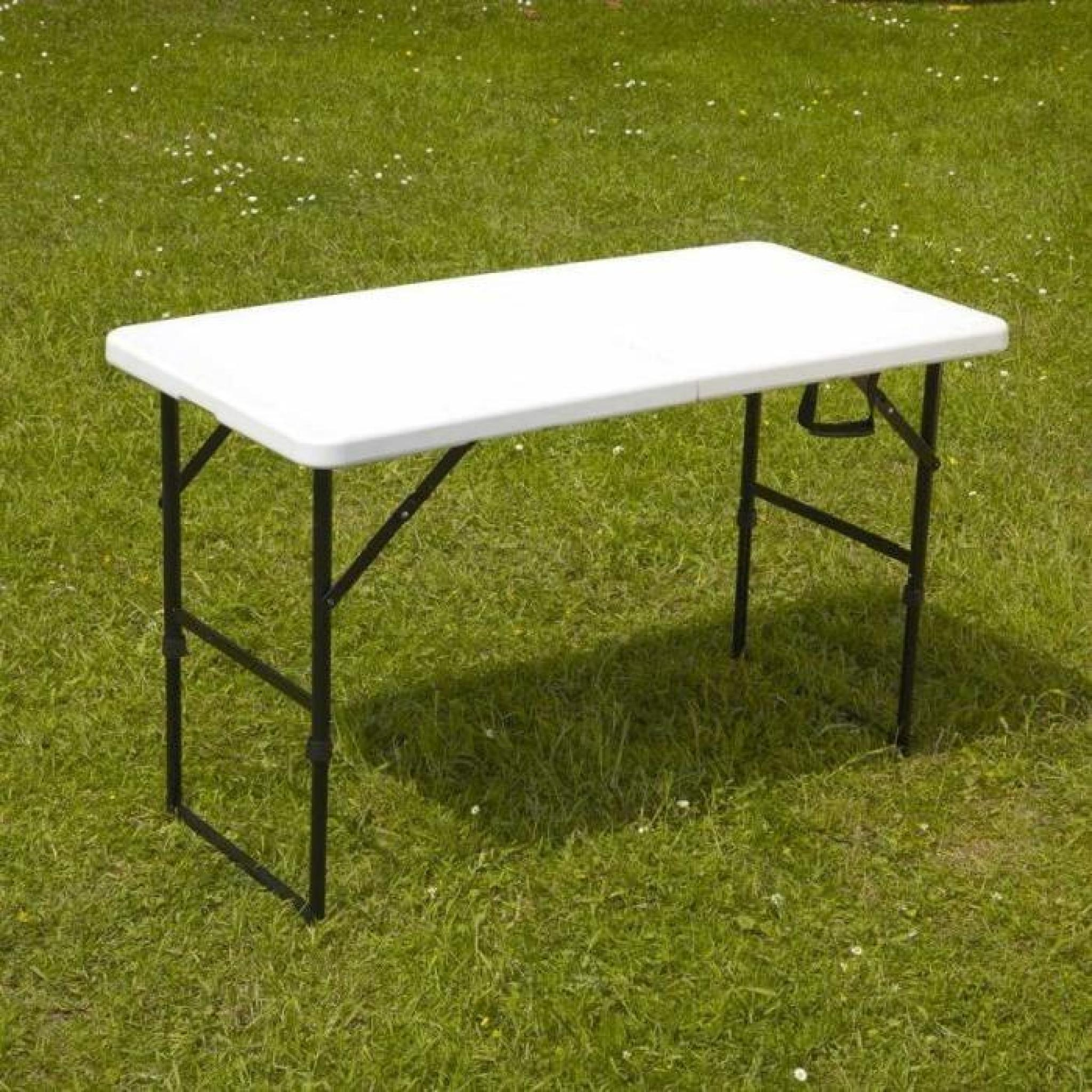 Table Pliante Pas Cher Castorama Table Pliante Portable Camping 122 Cm Achat Vente Table