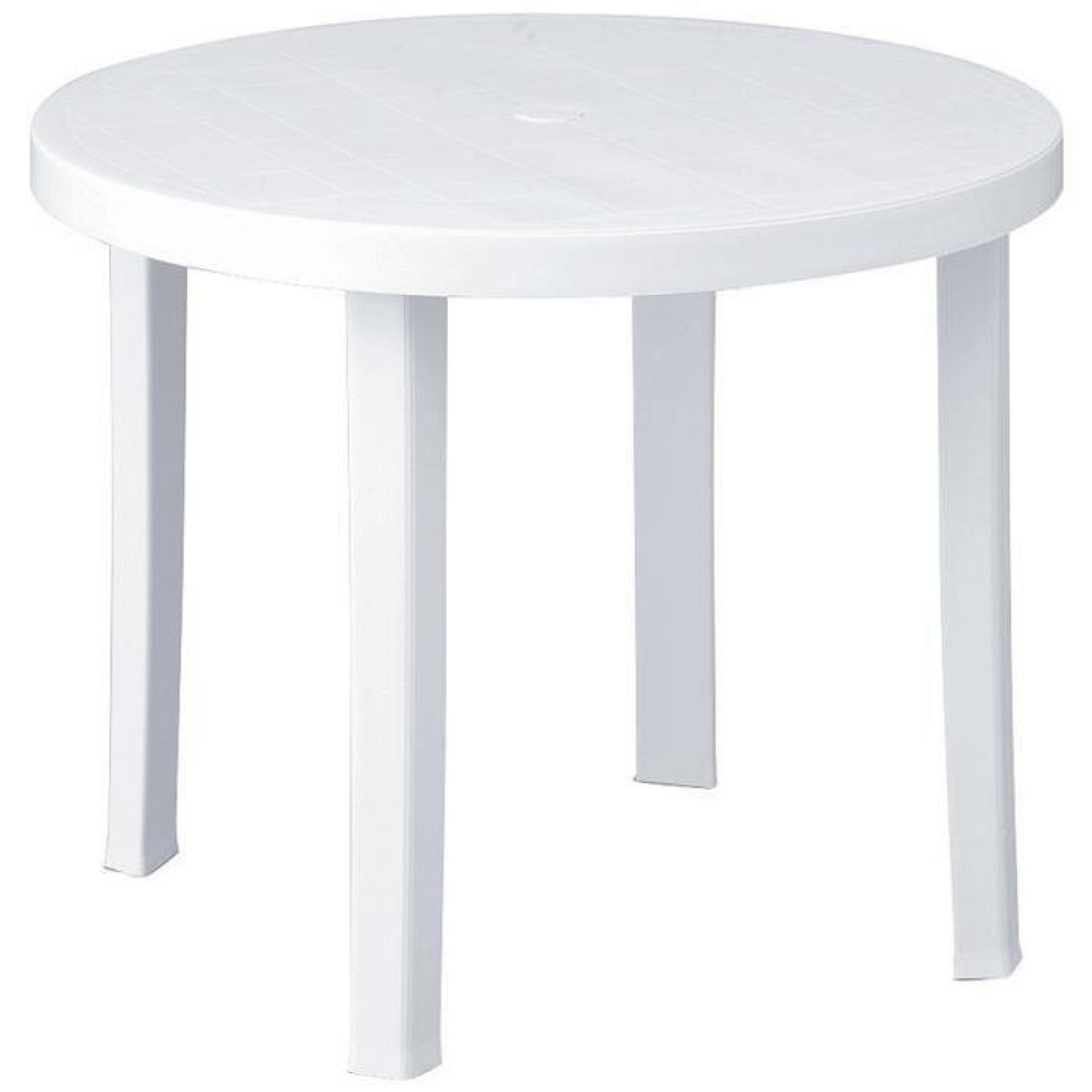 Table Ronde 90 Cm Table Ronde 90 Cm Achat Vente Table De Jardin Ronde Pas