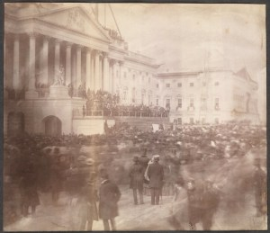 Photograph of the Inauguration of James Buchanan, March 4, 1857 by John Wood