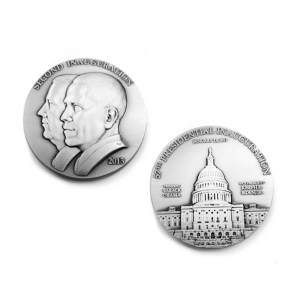 Barack Obama Second Term Silver Inaugural Medal