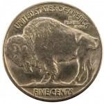 1913 Buffalo Nickel Type 2 Rev