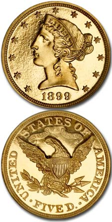 1899-Five-Dollar-Gold-Piece