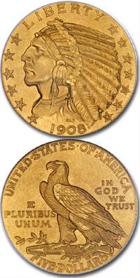 1908-gold-Indian-half-eagle