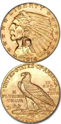 1914-gold-indian-quarter-eagle