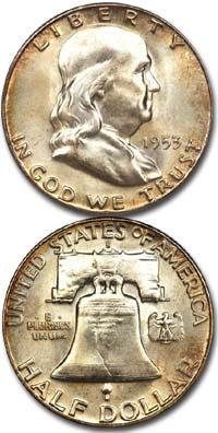 1953s-franklin-half-dollar