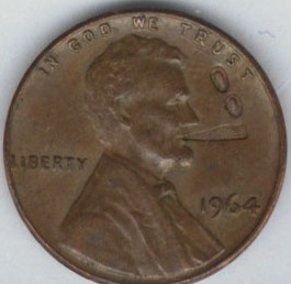 1964-lincoln-cent-smoking
