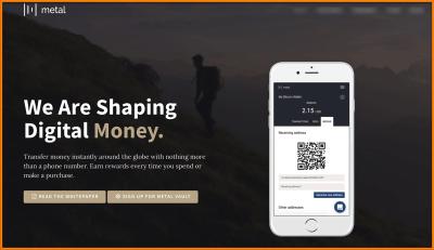 Metal Cryptocurrency: Earn While Sending & Receiving Money [Fundamental Analysis]