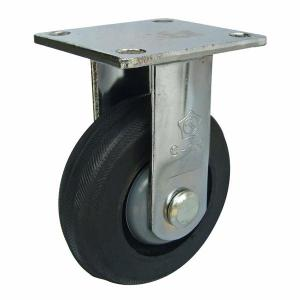 Càng C150 cố định, bánh xe cao su lõi gang của công ty cổ phần Làng Rùa