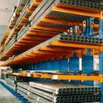 Cantilever Heavy Duty Storage With Goods Stored