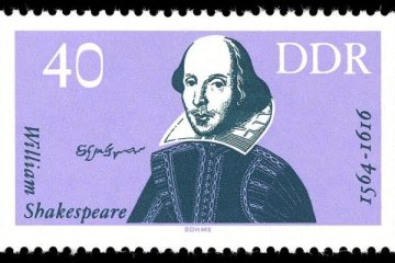 Stamps_of_Germany Shakespeare