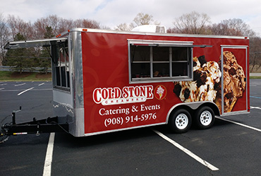 Ice Cream Party from Cold Stone Creamery Trailer NJ, NY, PA
