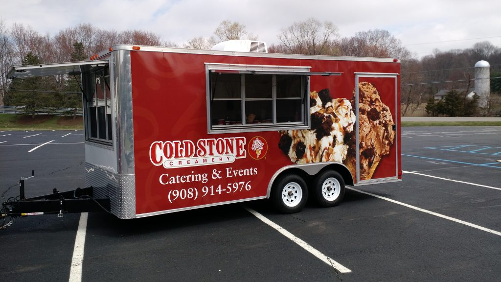 Our Catering Trailer
