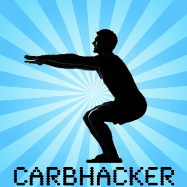 An app to calculate carb calorie offsets with squats