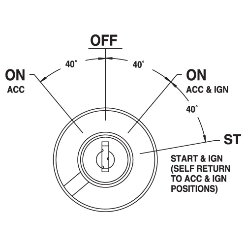 ignition switch circuit