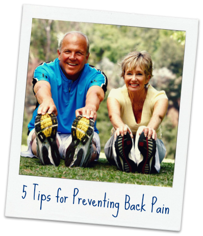 Prevent Back Pain Tips