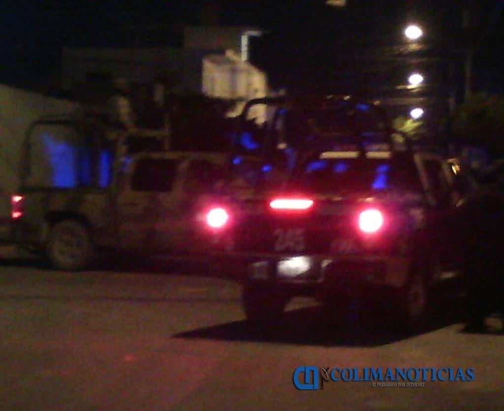 Balacera en el centro de Manzanillo deja saldo de un muerto