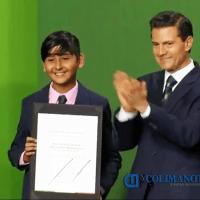 Estudiante de Coquimatlán: Primer Lugar Nacional en la Olimpiada del Conocimiento Infantil 2016