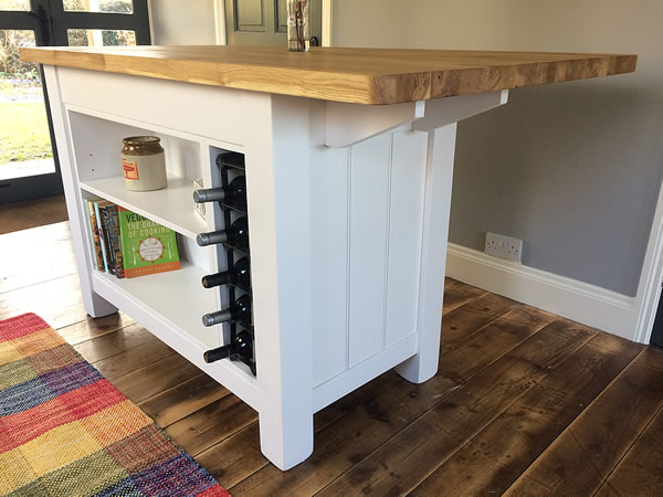Free Standing Kitchen Island With Breakfast Bar Freestanding Furniture & Kitchens Gallery