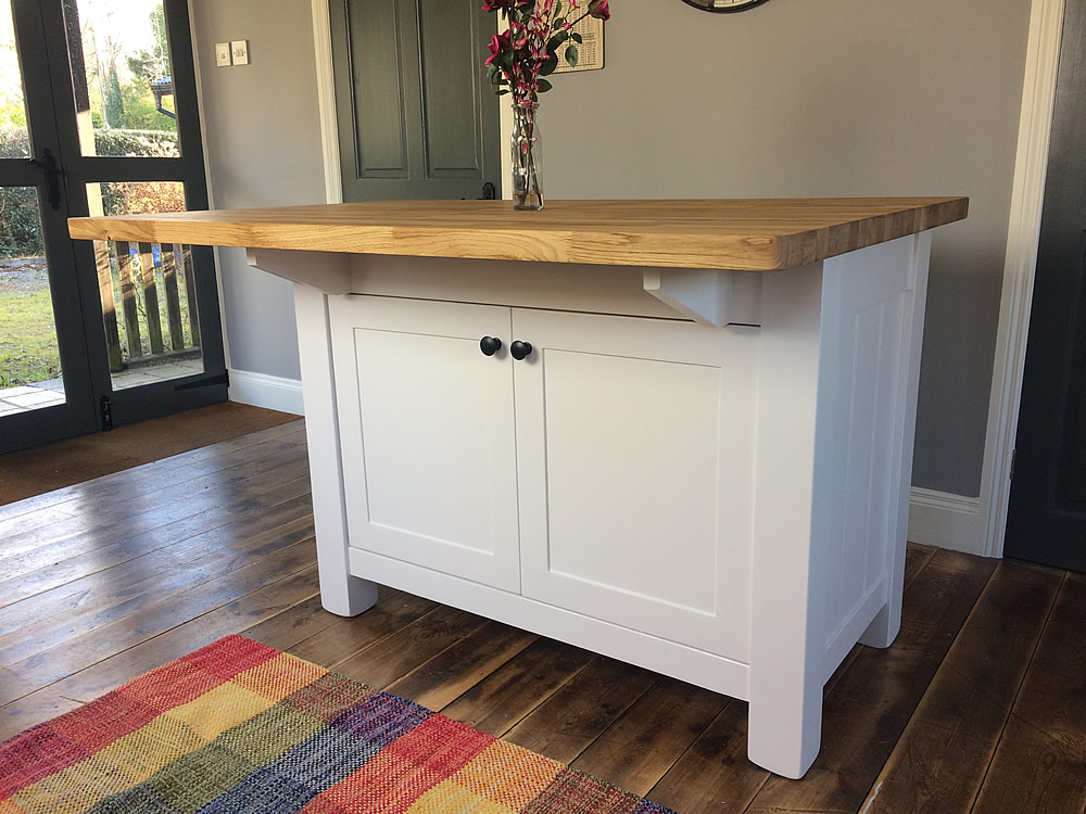 Free Standing Kitchen Island With Breakfast Bar Freestanding Kitchen Islands | Painted Kitchen Islands