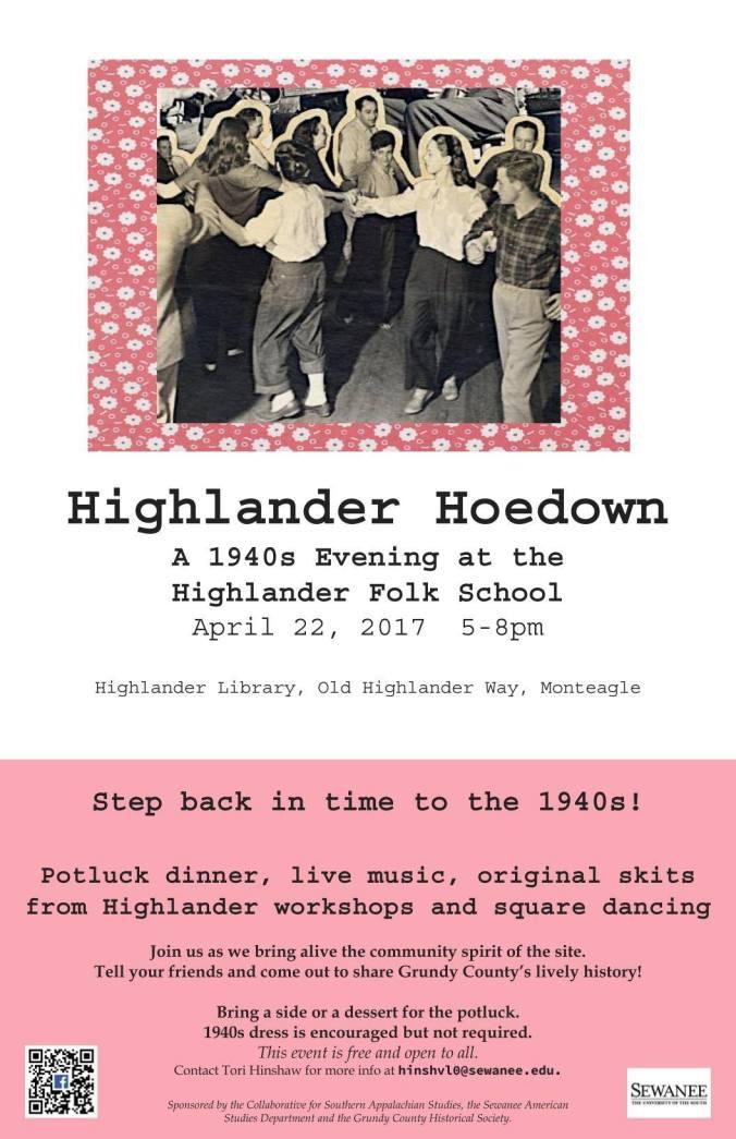 Highlander Hoedown poster