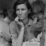 "Dorothea Lange's ""Migrant Mother"" (1936)"