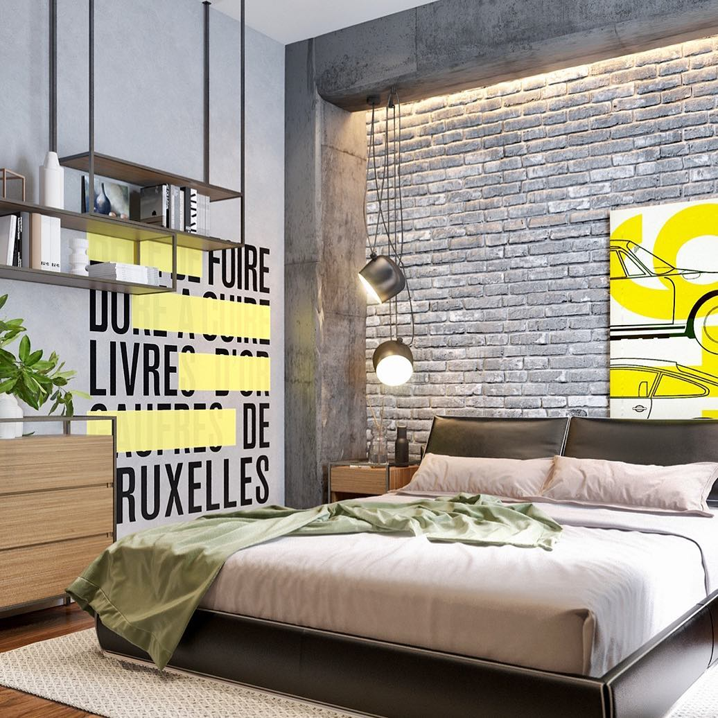 Industrial Bedroom Design 50 Industrial Bedroom Design Ideas You Can Try In 2018