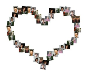 Collages de corazones gratis.