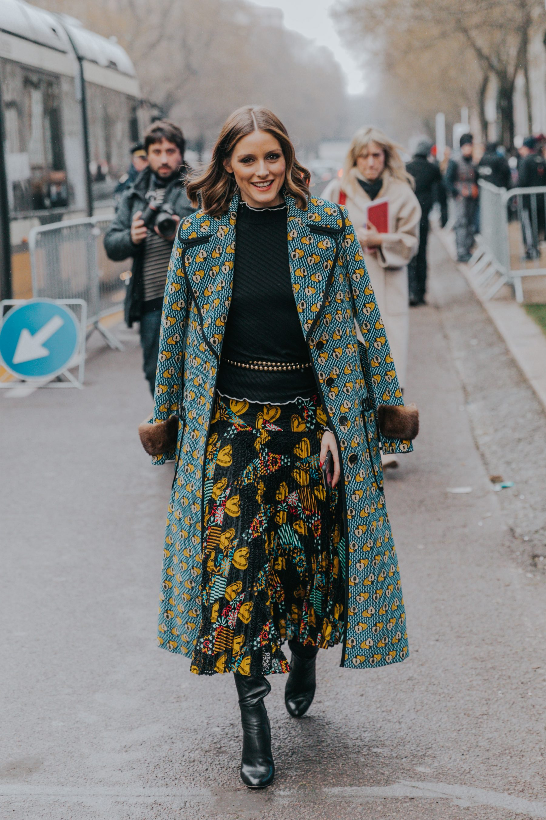 Lifestyle Blog Beauty Milan Fall 18 19 Street Style Ii Collage Vintage